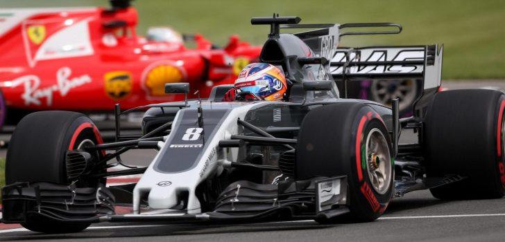 Romain Grosjean en Canadá