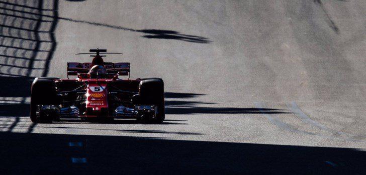 Sebastian Vettel en Azerbaiyán