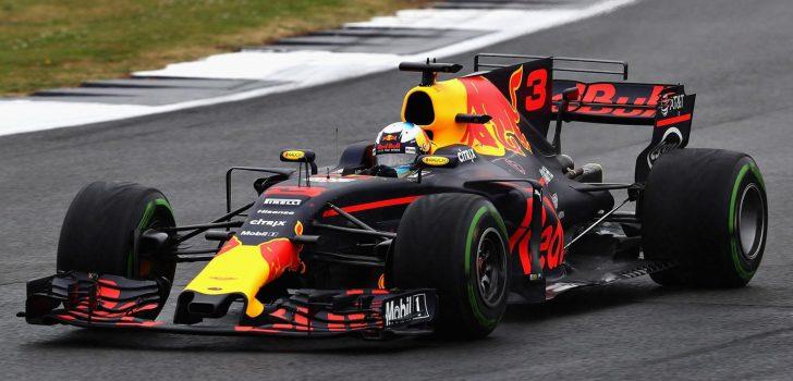 Daniel Ricciardo en Silverstone