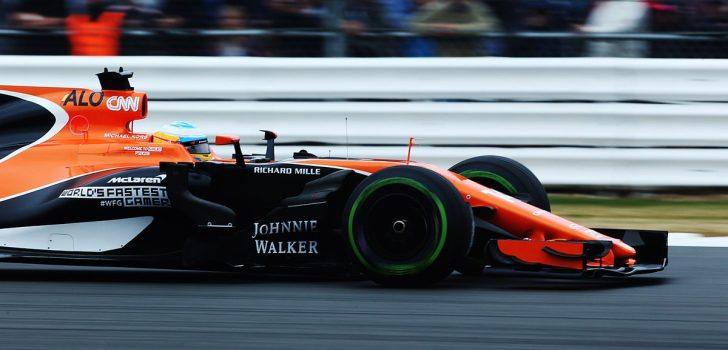 Fernando Alonso en Gran Bretaña