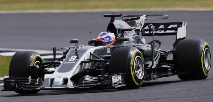 Romain Grosjean en Gran Bretaña 2