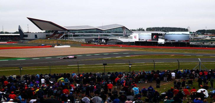 Force India en Silverstone