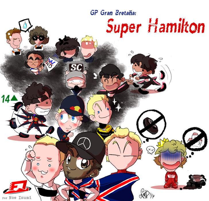 Los Chibis 227: Super Hamilton