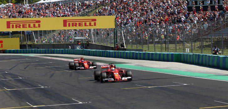 Sebastian Vettel y Kimi Räikkönen