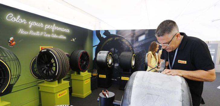 Mecánico de Pirelli