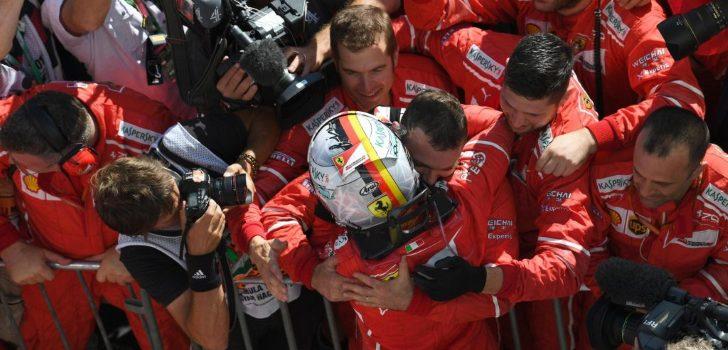 Vettel-Ferrari)