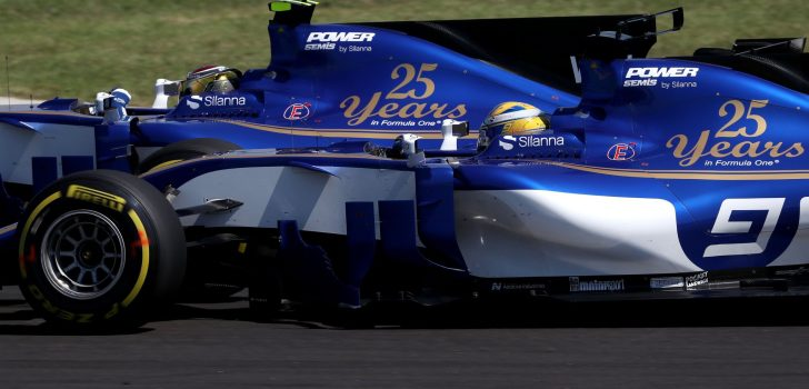 Marcus Ericsson y Pascal Wehrlein