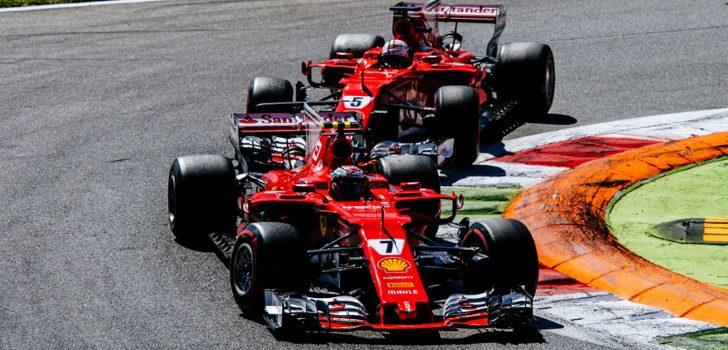 Vettel y Räikkönen