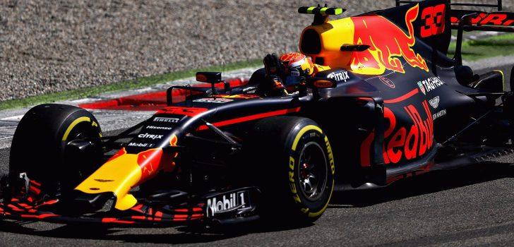 Max Verstappen en Monza