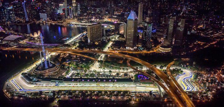 Circuito Callejero De Marina Bay : Previo del gp de singapur f al día