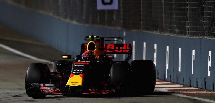 Max Verstappen en Singapur
