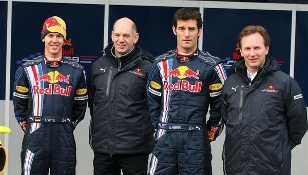 Horner quiere conseguir la primera victoria de Red Bull en 2009