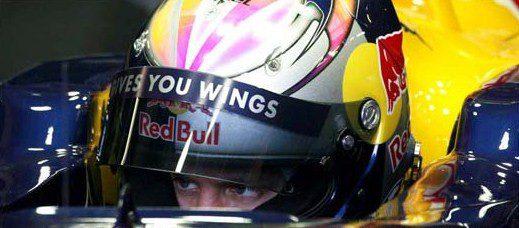 Nuevo casco para Sebastian Vettel