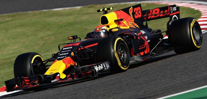 Max Verstappen en GP Japón