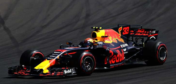 Max Verstappen en Hungría