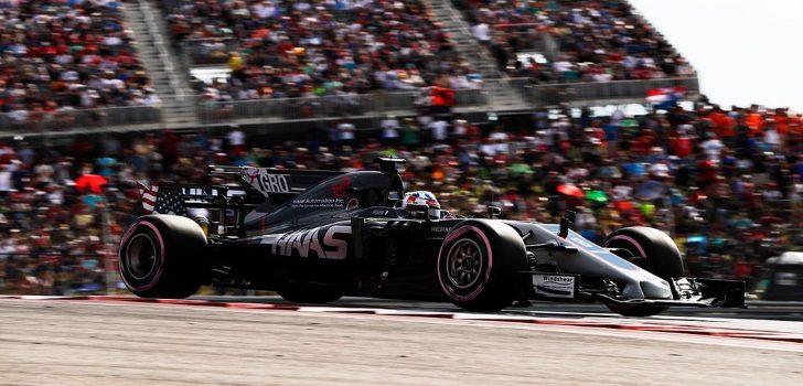 Grosjean en Austin