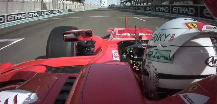 Vettel en Abu Dabi