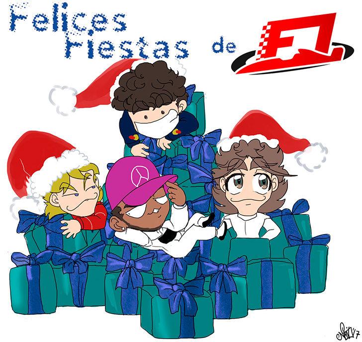 Los Chibis (240) Feliz navidad