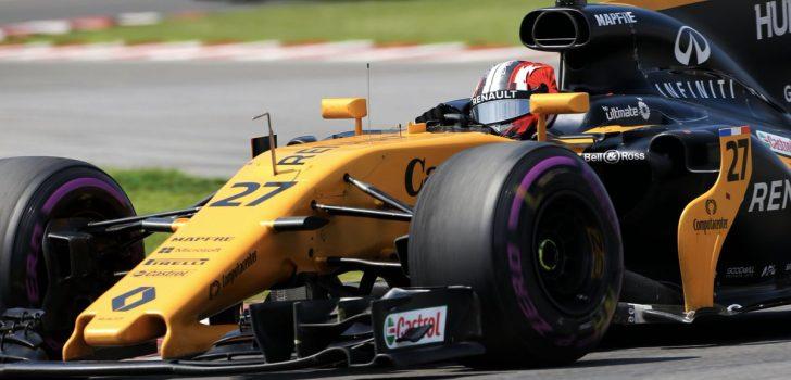 Nico Hülkenberg en F1 2017