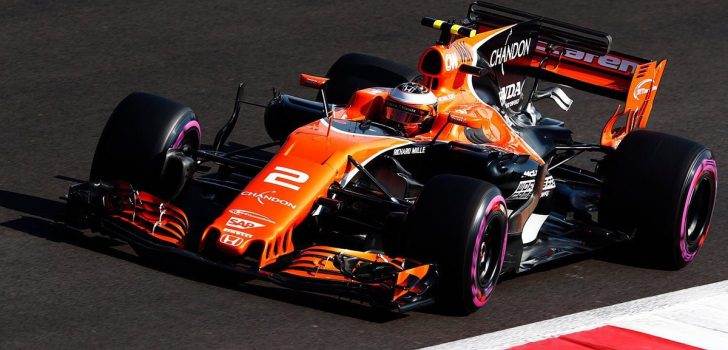 Stoffel Vandoorne F1 2017