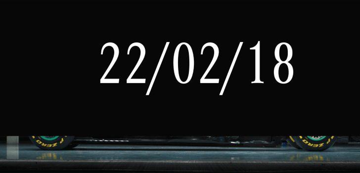 Con esta imagen, Mercedes anunció la llegada de su nuevo monoplaza