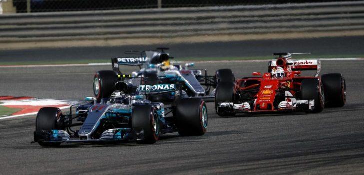 Vettel, Verstappen, Hamilton 2017