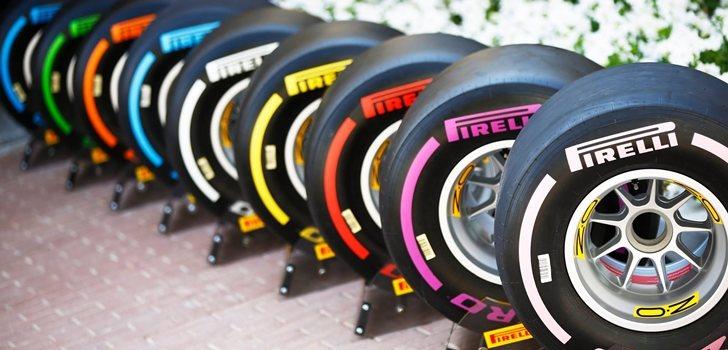 Gama de neumáticos Pirelli para 2018