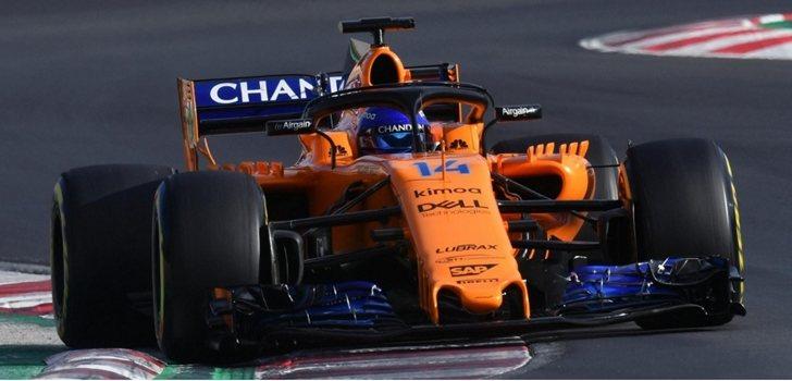 El Halo, implantado en el monoplaza de Fernando Alonso