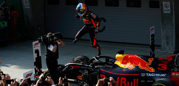 Daniel Ricciardo GP China 2018