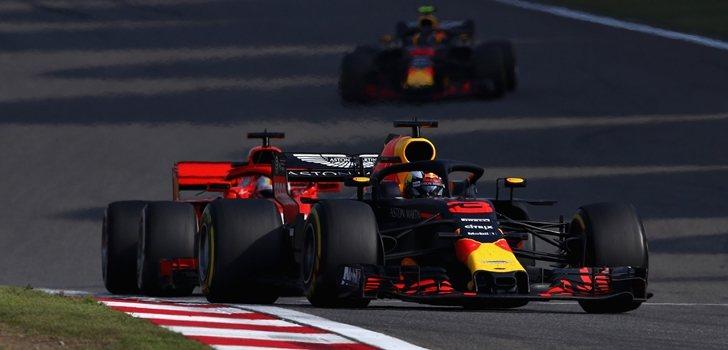 Ricciardo en el GP de China 2018