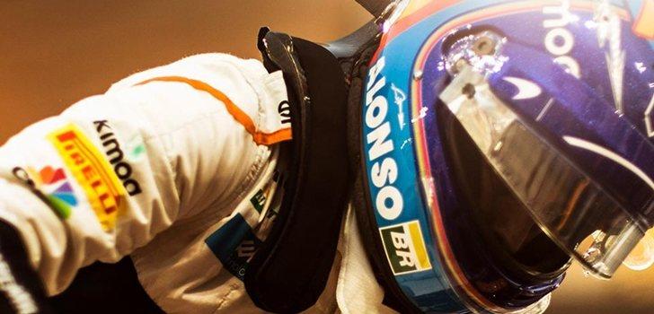 Fernando Alonso, en McLaren