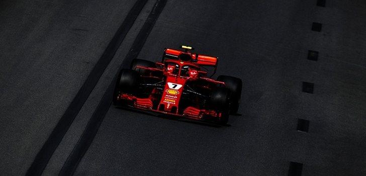 Räikkönen rueda en Azerbaiyán