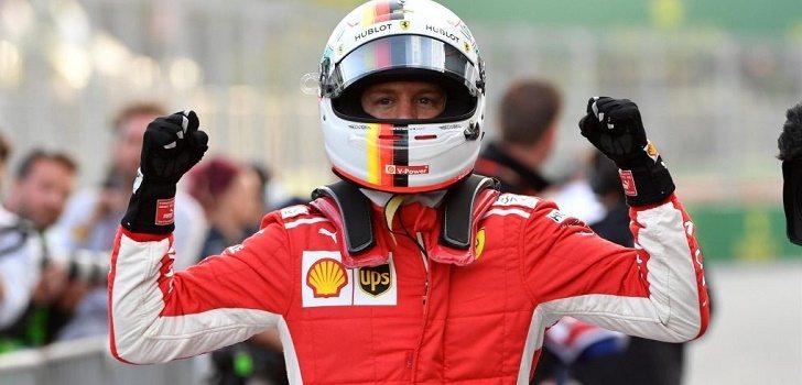 Vettel Pole Azerbaiyan 2018