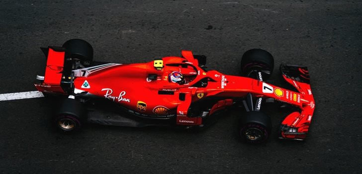 Räikkönen rueda en Bakú 2018