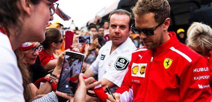 Vettel en España