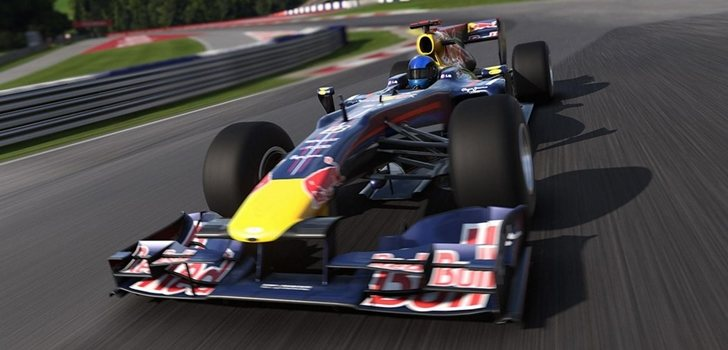 Imagen del videojuego oficial de Fórmula 1