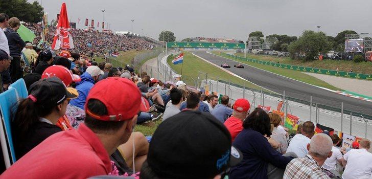 Los aficionados disfrutan con el GP de España 2018
