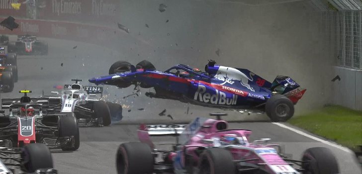 Accidente Stroll-Hartley