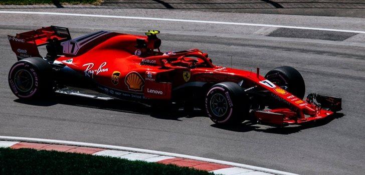 Räikkönen rueda en Canadá 2018