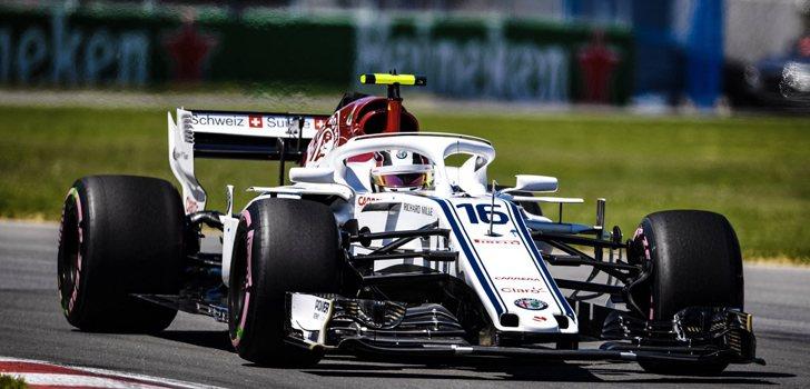 Charles Leclerc GP Canadá 2018