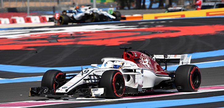 Marcus Ericsson en el GP de Francia
