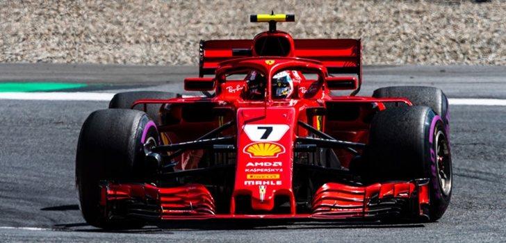 Räikkönen rueda en Spielberg