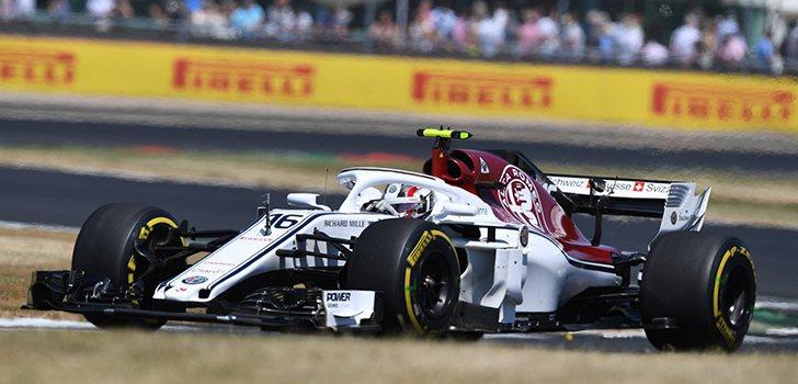 Charles Leclerc GP de Gran Bretaña