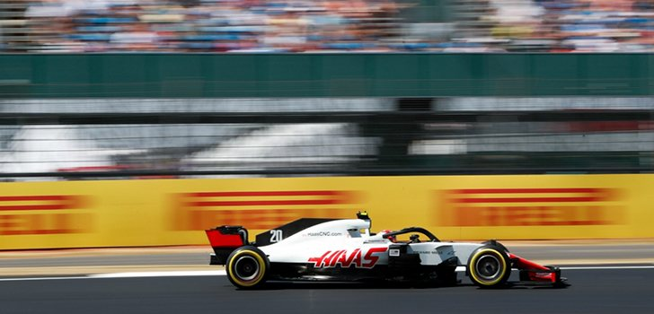 Kevin Magnussen GP de Gran Bretaña
