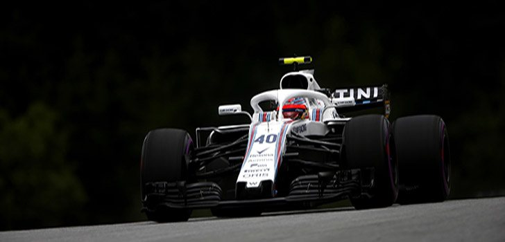 Kubica pilotando para Williams esta temporada