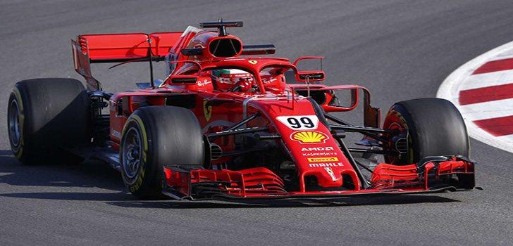 Giovinazzi, este año con Ferrari