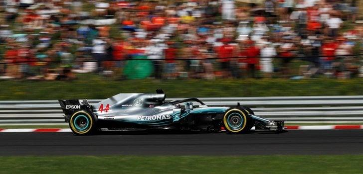 Lewis Hamilton GP Hungría