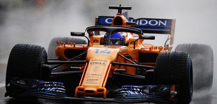 Alonso, durante el pasado GP de Hungría