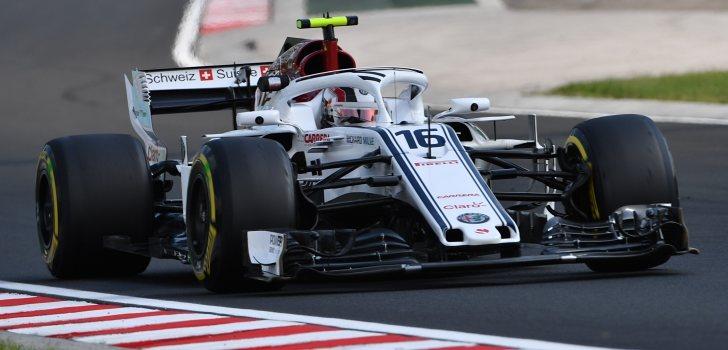 Charles Leclerc GP Hungría