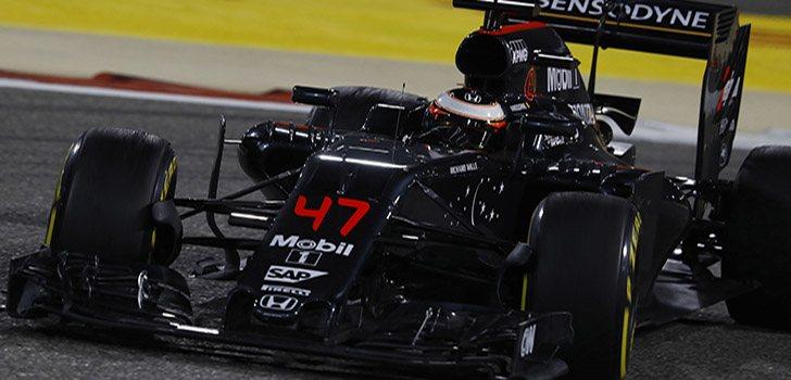 Vandoorne en su debut en F1 en 2016